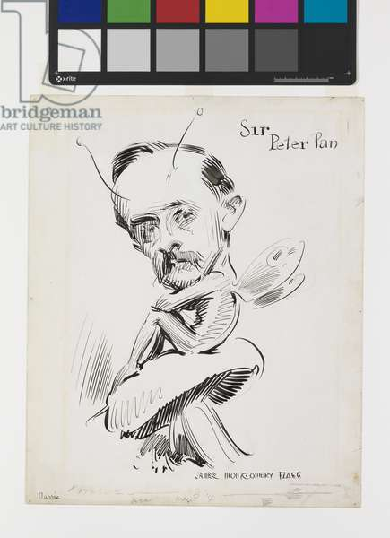 Sir Peter Pan, 1914 (ink on paper)
