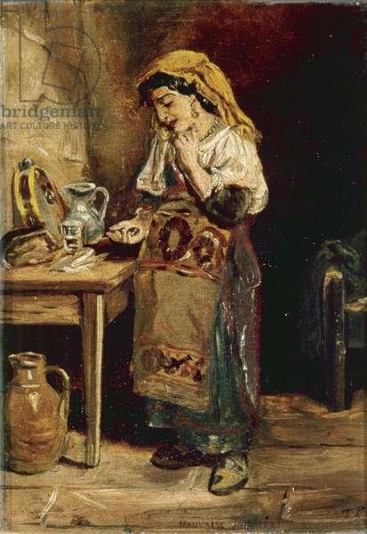 Mauvaise Journee, c.1890 (oil on canvas)