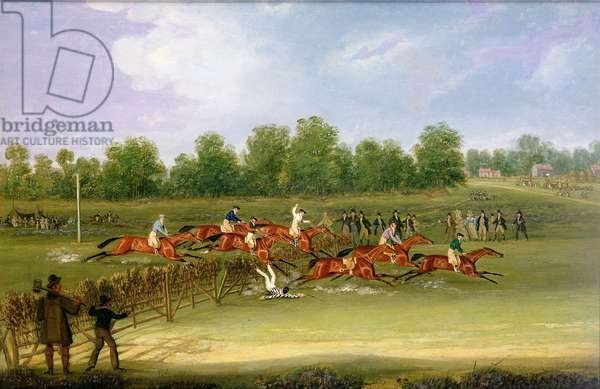 St Albans Tally-Ho Stakes, May 22nd 1834 (oil on canvas)