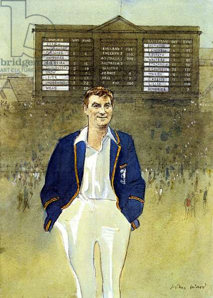 Ray Illingworth (b.1932) (colour litho)