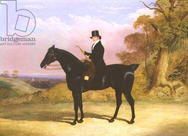 James Nunn, foreman to William Chaplin Esq., 1834 (oil on canvas)
