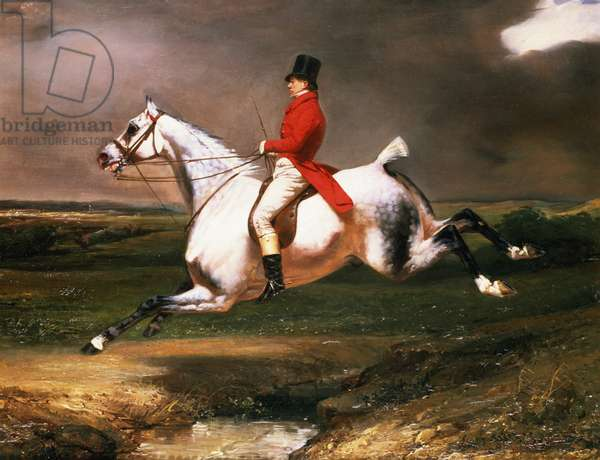 The Hunter, 1831 (oil on canvas)