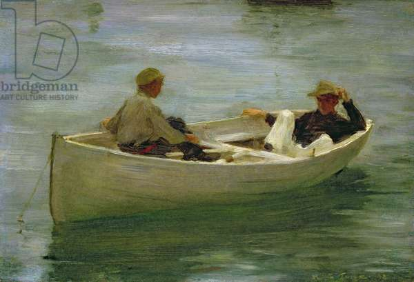 In the Rowing Boat, 1898 (oil on canvas)