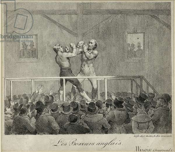 English Boxers (litho)