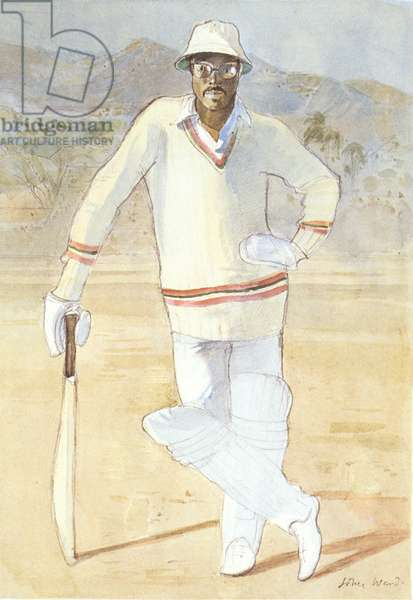 Clive Lloyd (b.1944) (colour litho)