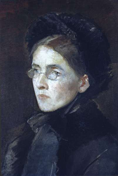 Susan Mary Pollexfen, mother of W.B. Yeats (oil on canvas)