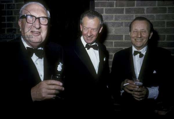 Sir William Walton, Benjamin Britten and Lennox Berkeley, June 1967 (photo)