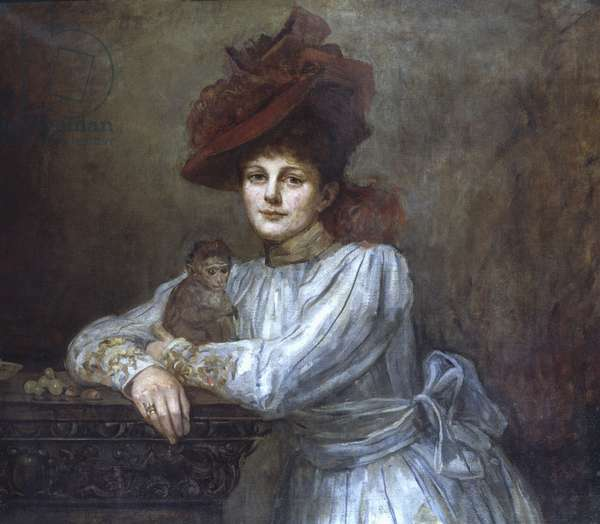 Maud Gonne (oil on canvas)