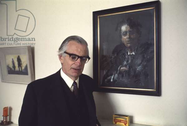 Senator Michael Yeats, son of W.B. Yeats, in his Dublin home (photo)