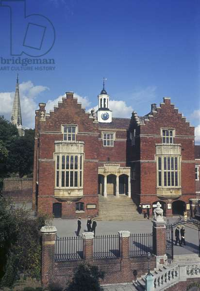 Harrow School, once attended by Winston Churchill (photo)
