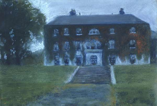 Lady Augusta's House at Coole Park, Gort, County Galway, Ireland (oil on canvas)