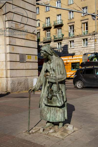Monument to the Anonymous Passerby, Wroclaw, Poland (photo)