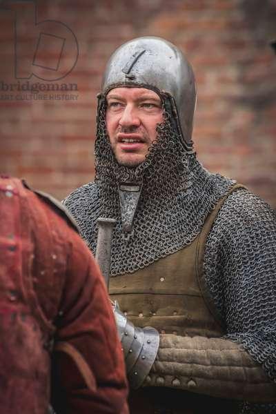 Second half of the 14th century: Portrait of an armor, Marimondo, Milan, Italy (photo)
