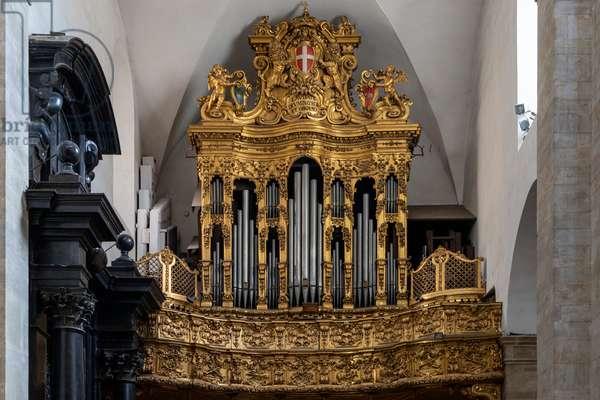 Duomo, pipe organ, Turin, Italy, 2020 (photo)