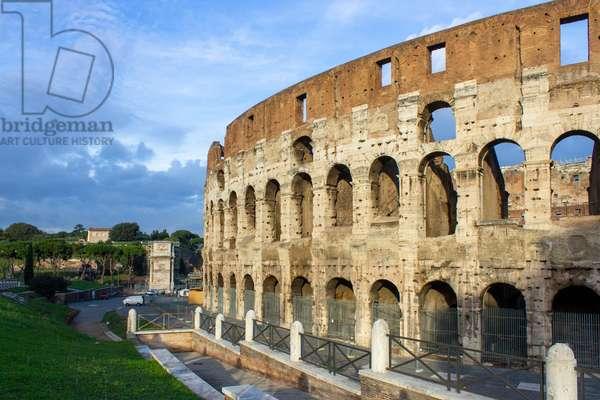 Flavian Amphitheatre - Colosseum, Rome, Italy (photo)