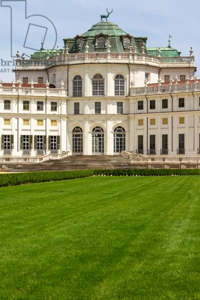 Outdoor spaces, Hunting Hall of Stupinigi, Nichelino, Turin, Piedmont, Italy (photo)