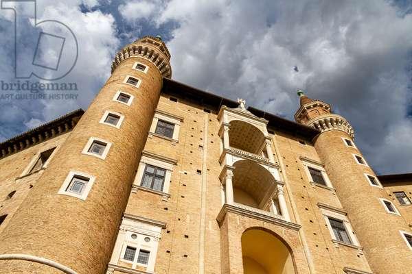 Palazzo Ducale, Urbino, Italy (photo)