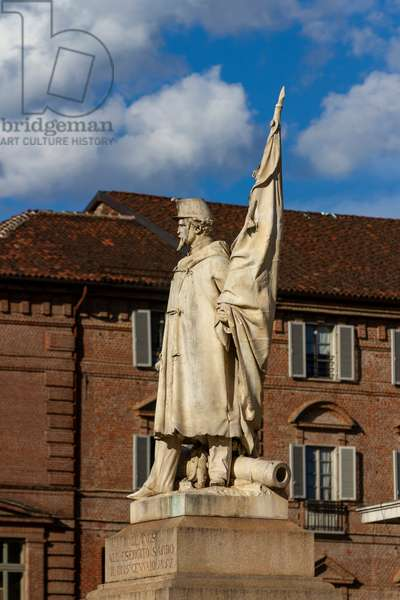 Monument to the bishop of the Sardinian Army, Turin, Italy (photo)