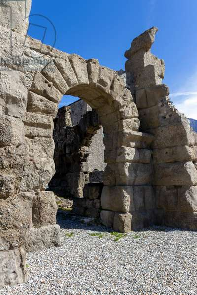 Roman Theatre, Aosta, Aosta Valley, Italy (photo)