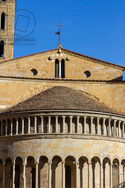 Church of Santa Maria della Pieve, Arezzo, Tuscany, Italy (photo)