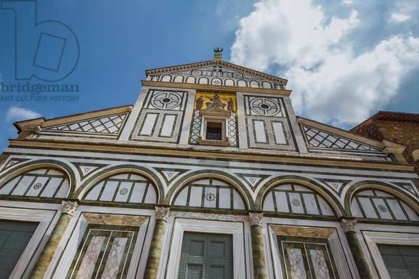 Basilica of San Miniato al Monte, Florence, Italy (photo)