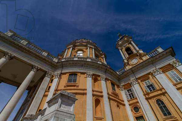 Basilica of Superga, Turin, Piedmont, Italy (photo)
