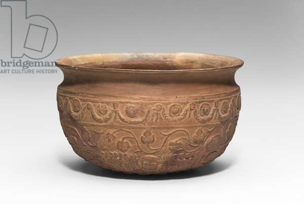 Early relief ware bowl, 110-80 BC (ceramic)