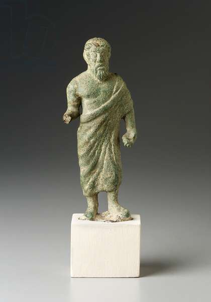 Zeus (for Homer), Etruscan, Classical Period (bronze)