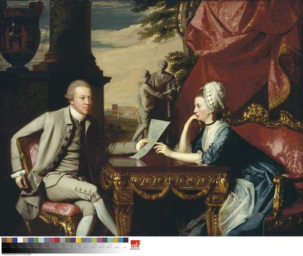 Mr and Mrs Ralph Izard (Alice Delancey) 1775 (oil on canvas)
