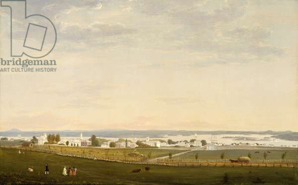 Castine, Maine, 1856 (oil on canvas)