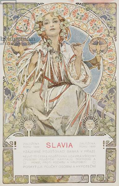 SLAVIA (colour litho)