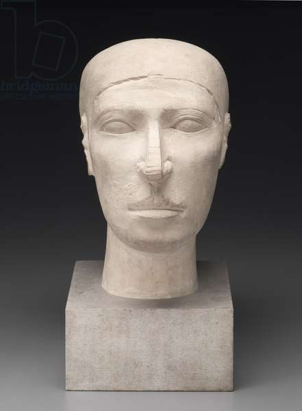 Reserve head of Nofer, from tomb G 2110, Giza, Old Kingdom (limestone)