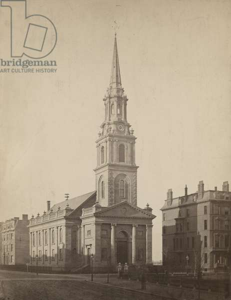 Arlington Street Church, Boston, c.1862 (albumen print mounted on board)