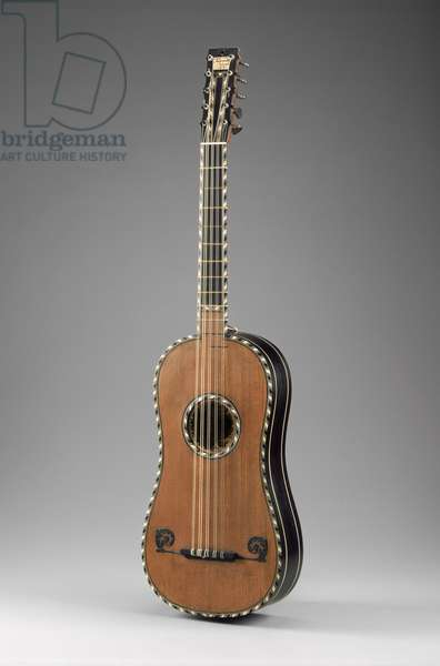 Guitar, 1680 (ebony, red cedar, spruce & ivory)