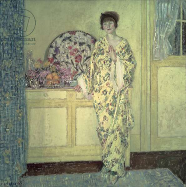 The Yellow Room, c.1910 (oil on canvas)