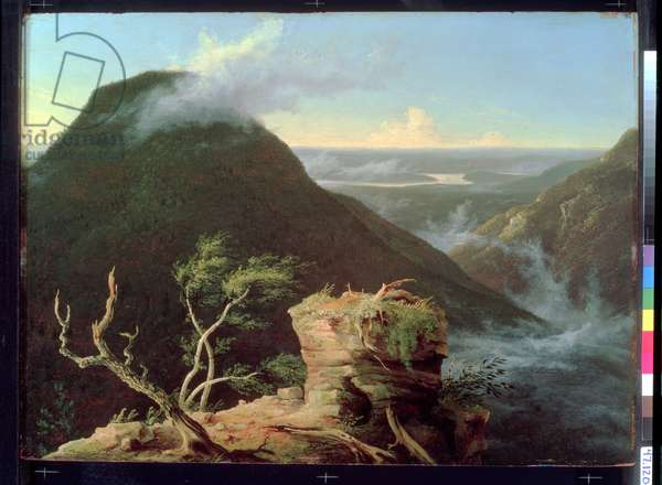 View of the Round-Top in the Catskill Mountains, 1827 (oil on panel)