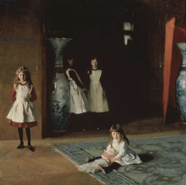 The Daughters of Edward Darley Boit, 1882 (oil on canvas)