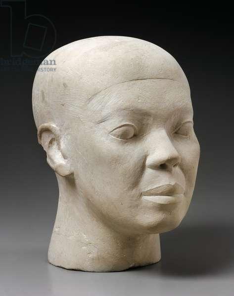 Reserve Head, from Tomb G 4440, Giza, Old Kingdom, c.2551-2494 BC (limestone)