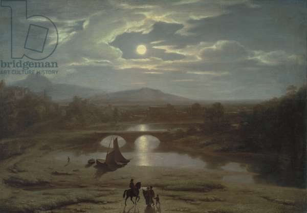 Moonlight, 1819 (oil on canvas)
