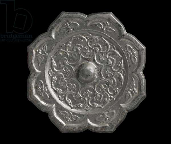 Mirror, late Tang Dynasty (bronze)