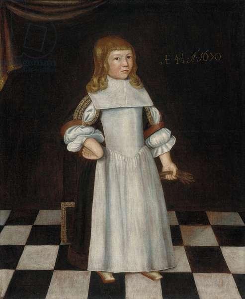 Robert Gibbs at 4 1/2 Years, 1670 (oil on canvas)