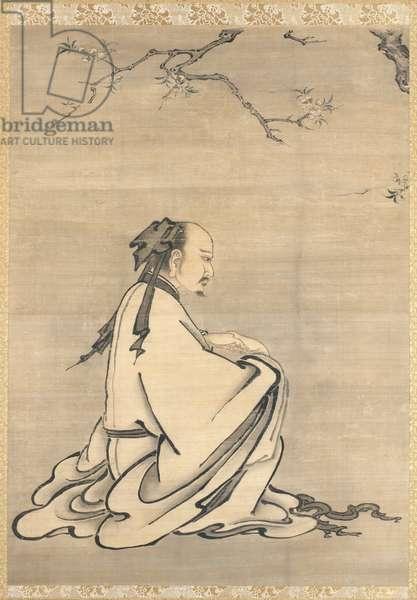 Huizi (ink & light colour on silk)