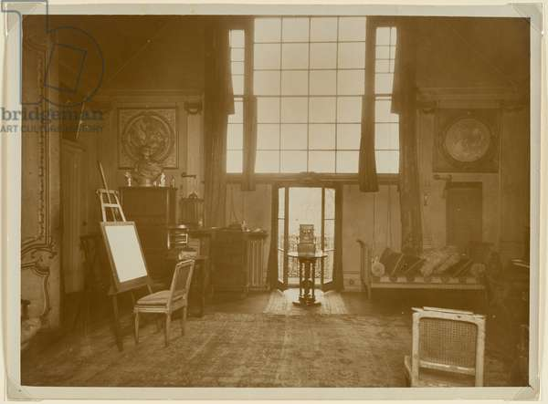 Sargent's Tite Street Studio, about 1922 (gelatin silver print)