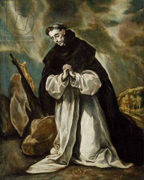 Saint Dominic in Prayer, c.1605 (oil on canvas)