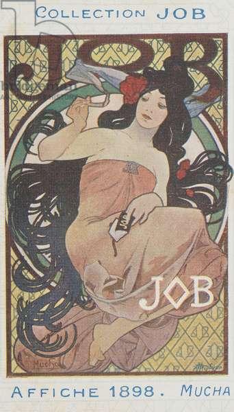 JOB; Affiche 1898 (colour litho)