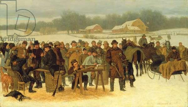 Turkey Shoot, 1879 (oil on canvas)
