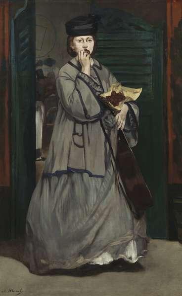 Street Singer, c.1862 (oil on canvas)