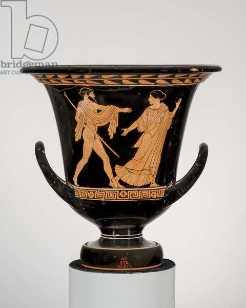 Kalyx krater (mixing bowl), 450-440 BC (ceramic)
