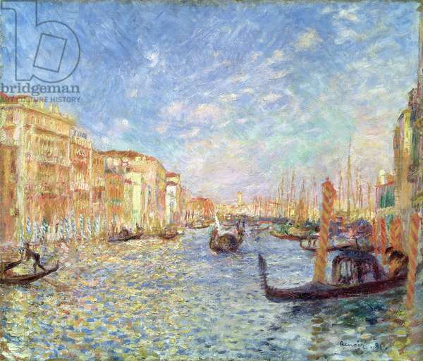 Grand Canal, Venice, 1881 (oil on canvas)