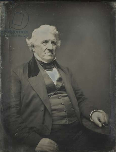 B. U. French, Quincy banker, 1845-61 (daguerreotype)